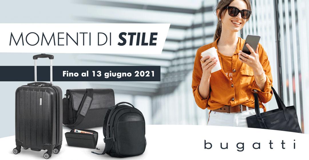 Concorso Momenti di stile Bugatti Fino al 13 giugno 2021