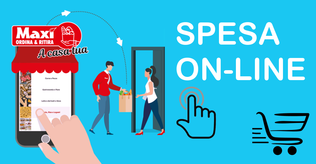 Ordina la tua spesa online, ritira a paga in negozio Via Coroneo 31